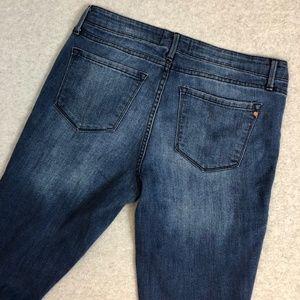 Rachel Roy Denim Mid Rise Skinny Jeans Size 29